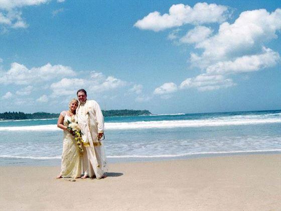 Stunning Sri Lanka beach at Dickwella