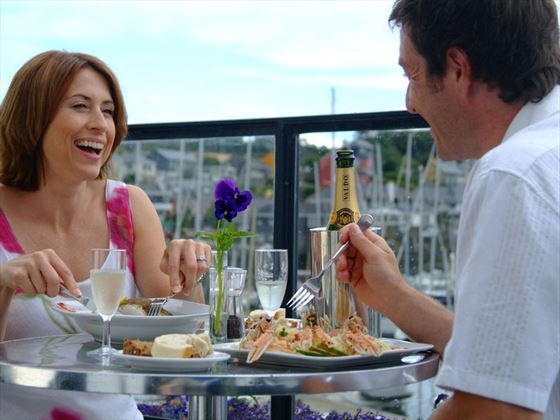 Dining out in Kinsale