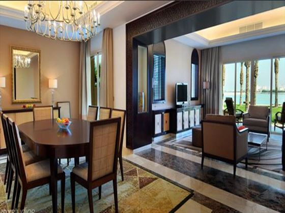 Dining room at Grand Hyatt Doha