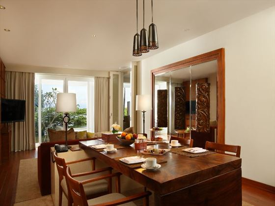 Dining room at Samabe