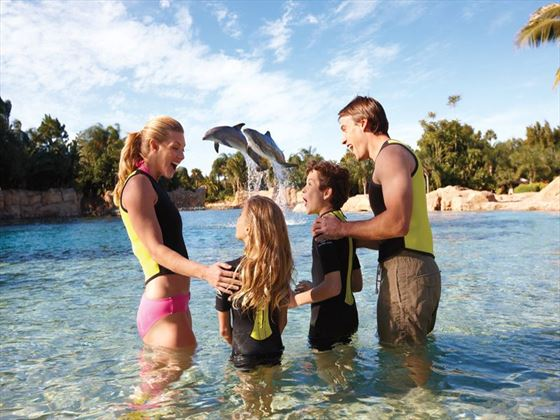 Family at Discovery Cove® Orlando