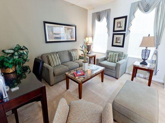 Disney Area Executive Plus Homes Lounge Area