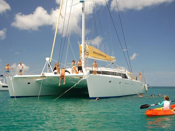 Diving off the Mojito 82