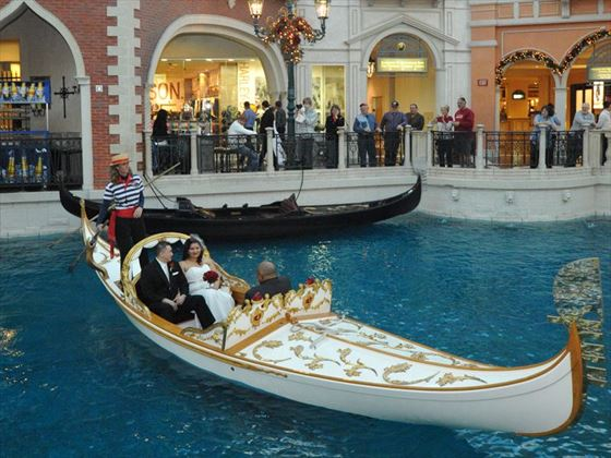 Gondola Wedding at The Venetian