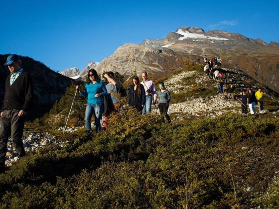 Trekking in Patagonia