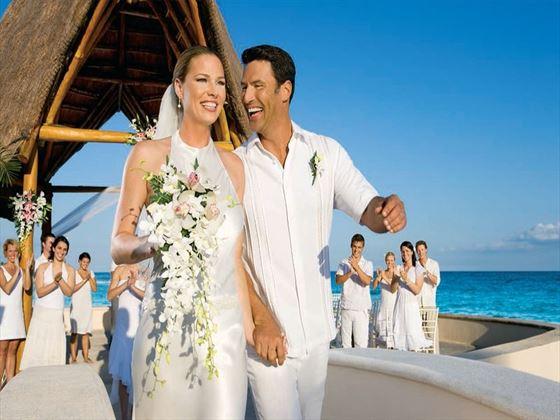 Fantastic weddings at Dreams Puerto Aventuras