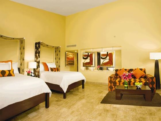 Dreams Puerto Aventuras Family Deluxe room