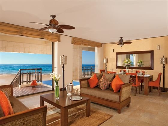 Dreams Riviera Cancun Resort & Spa living room
