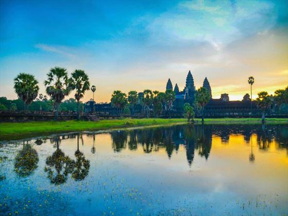 Angkor Wat in the morning