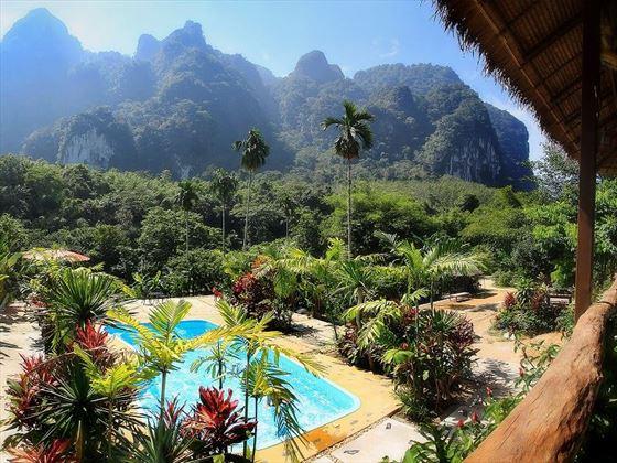 Elephant Hills - The Elephant Camp pool