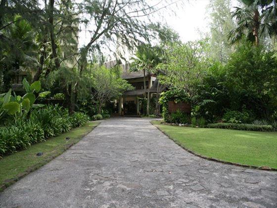 Entrance to Tanjung Rhu Resort