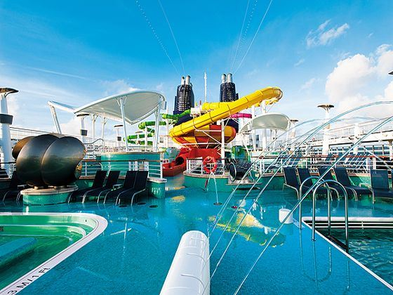 Norwegian Epic Waterpark