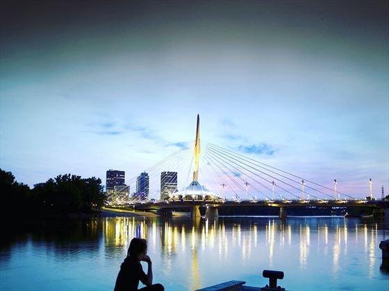 Esplanade Riel Pedestrian Bridge, Winnipeg