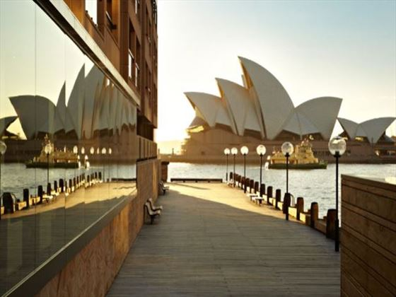 Exterior view of Park Hyatt Sydney
