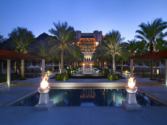 Exterior view of Al Bustan Palace