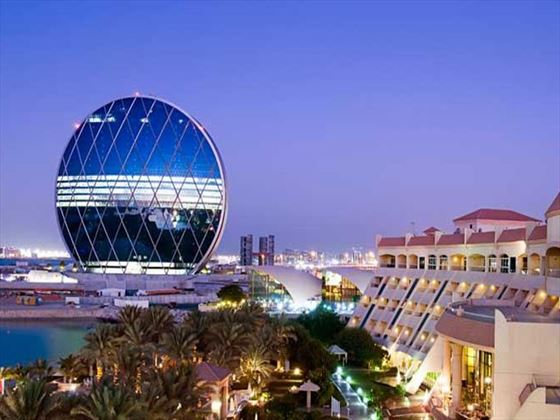 Al Raha Beach Hotel exterior view
