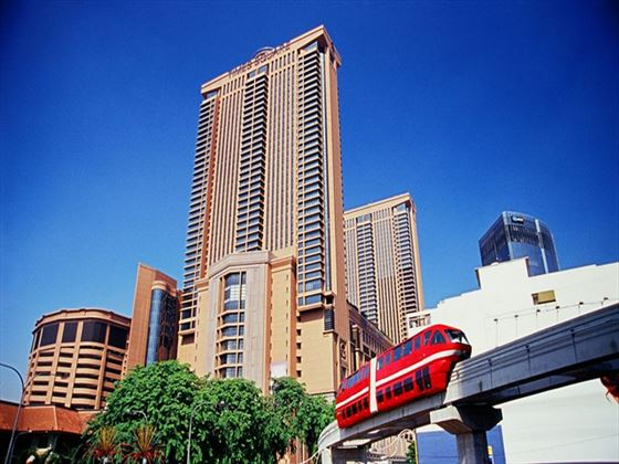 Exterior view of Berjaya Times Square Hotel
