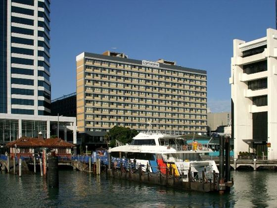 Exterior view of Copthorne Hotel Auckland