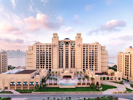 Exterior view of Fairmont The Palm