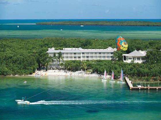 Exterior view of Hilton Key Largo