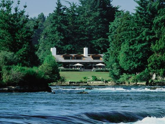 Exterior view of Huka Lodge