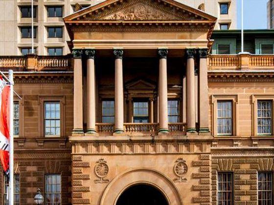 Exterior view of Intercontinental Sydney