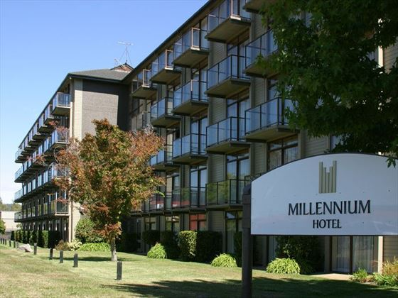 Exterior view of Millennium Hotel