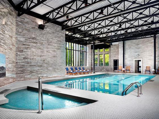 Fairmont Empress indoor pool