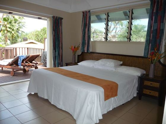Family Garden bedroom at Muri Beachcomber