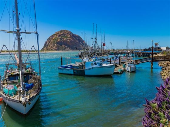 Fishing boats in Morro Bay