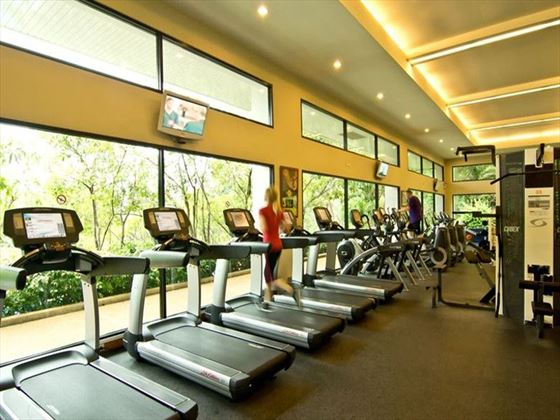 Fitness centre at Royal Cliff Hotels Group