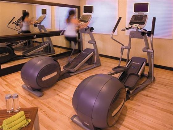Fitness centre at Traders Hotel