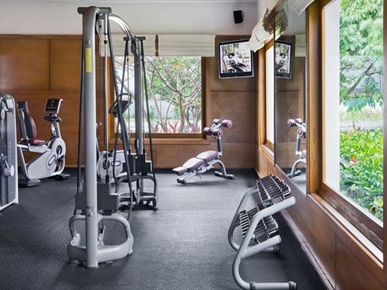 Fitness facilities at Excellence Punta Cana