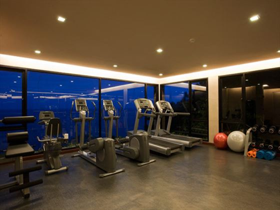 Fitness facilities at Paresa