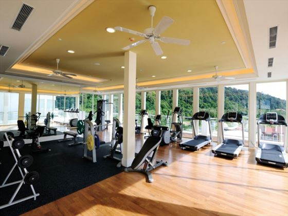 Fitness room at The Danna Langkawi