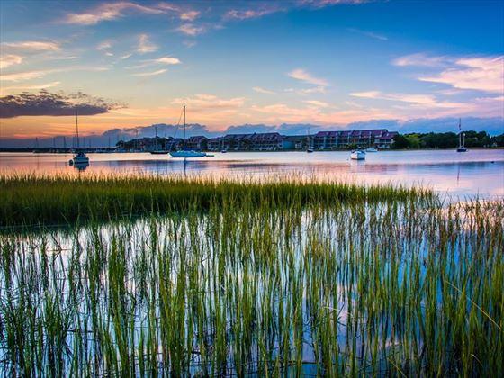 Folly River, Folly Beach, South Carolina