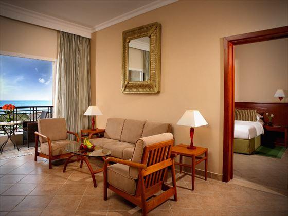 Fujairah Rotana Resort & Spa Premium Suite living room