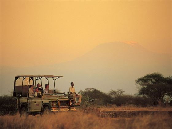 Game drive in Selenkay Conservancy