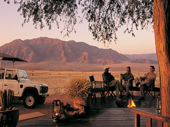 Game drives at Wolwedans Dune Camp