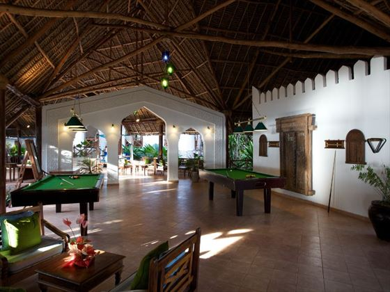 Games room at Bluebay Resort & Spa
