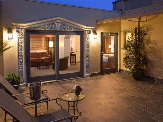 Rooftop Garden Suite Exterior