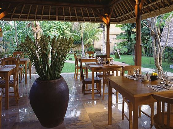 Graden Terrace Restaurant at Komaneka Monkey Forest, Ubud