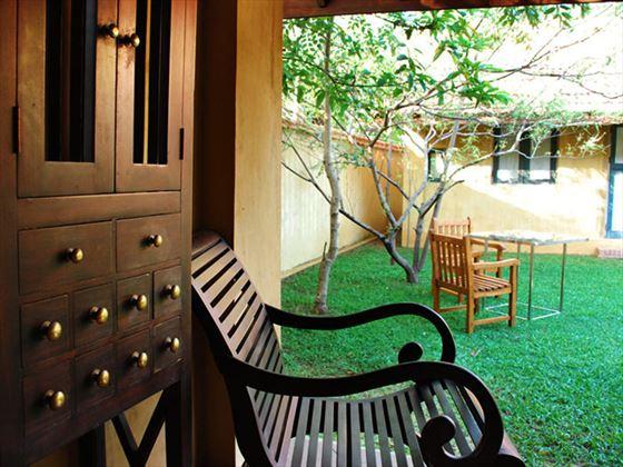 Gardens at Jetwing Ayurveda Pavilions