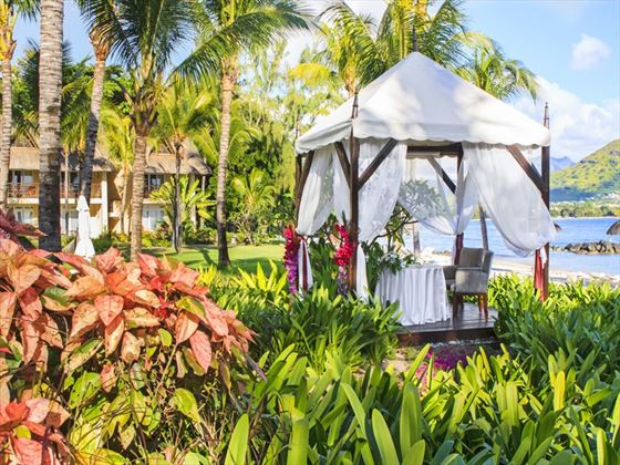 Gaden wedding gazebo at Sands Resort & Spa