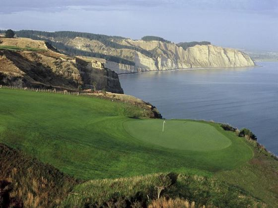 Golf course at The Farm at Cape Kidnappers