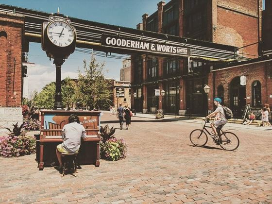 Gooderham & Worts, Distillery District