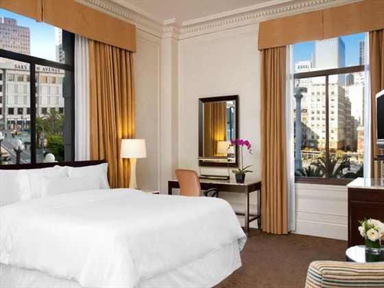 Grand Deluxe King, Landmark Building, at Westin St Francis