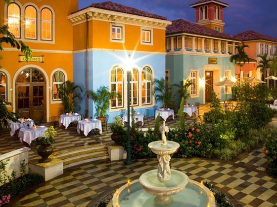 Guiseppe's restaurant at Sandals Whitehouse European Village and Spa