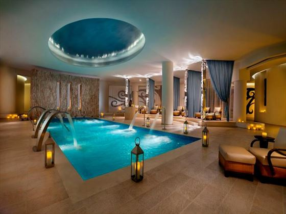 Hard Rock Hotel and Casino spa pool