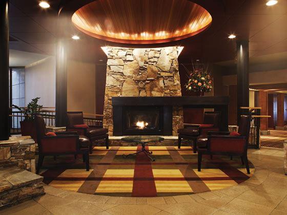 Lobby fire